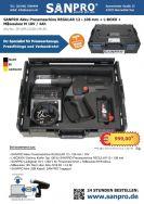 05-APR12108-1M18V   SANPRO Akku Pressmaschine REGULAR 12 - 108 mm + L-BOXX + Milwaukee M 18V / 4Ah