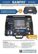 07-LBOXX-SANSPEZ-20  = SANPRO Spezialwerkzeug Set 20 tlg. für Sanitär- Endmontage in L-BOXX 136