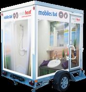 Das mobile Bad  - Wohlfühloase für die Badsanierung
