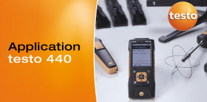 The new climate measuring instrument testo 440: Versatility in a compact design