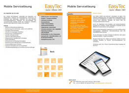 EasyTec Mobile Servicelösung