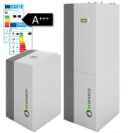 ecoGEO Heat Pumps continuous operation from  1 to 100 kW