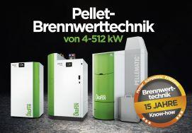 Effiziente Pellet-Brennwertkessel von 4 bis 512 kW
