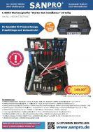"""L-BOXX Werkzeugkoffer """"Starter-Set Installateur"""" 20-teilig"""