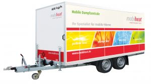 Mobile Dampfzentrale 600 kg/h