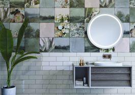 Optischer Höchstgenuss im wohnlichen Designbad: Neue Badkollektion Frame von VitrA Bad