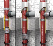 PAM-GLOBAL SVB Steckverbindung - für Abwassermischinstallation