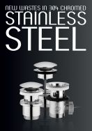 Stainless steel wastes