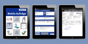 sykasoft Arbeitsauftrag mobil per Webservice