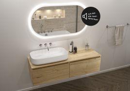 Zwei in einem – die Badspiegel Look