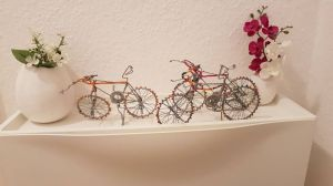 Wulstige Fahrräder
