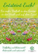 """""""Entsteint euch"""" – Deutsche Gartenbau-Gesellschaft 1822 e.V. auf der """"Mode Heim Handwerk"""" vom 11.-19. November 2017 im Einsatz für die Pflanzenvielfalt"""