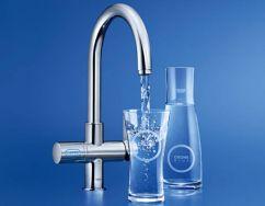 Küchenarmaturen mit Wasserfilter