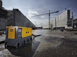 Dieselbetriebene Kreisel-Entwässerungspumpen mit Schallschutzhaube
