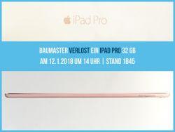 BauMaster - Verlosung iPad