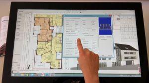 CADDER-Tablet das smarte CAD für den Hochbau