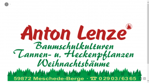 Anton Lenze Baumschulkulturen