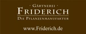 Klaus Friderich, Gärtnerei