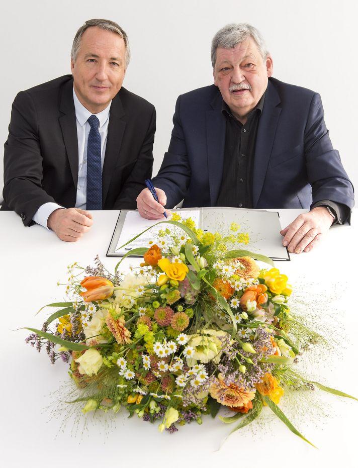 Messe Essen und Fachverband Deutscher Floristen - FDF setzen Partnerschaft fort