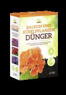 Balkon und Kübelpflanzen Dünger