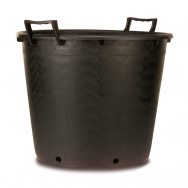 Heavy duty nursery containers with handles