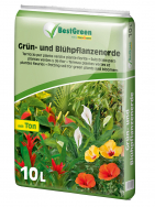 BestGreen potting soil for green plants and bloomers
