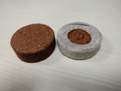 Coir disc & Coir Plugs
