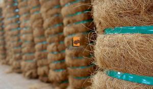 Kokosfaser -Ballen