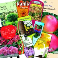 Custom Design Plant Labels and packaging