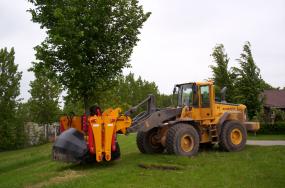Baumverpflanzmaschine