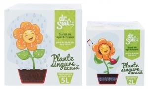 Dr. Soil Therapie für allein zu Hause gelassene Pflanzen - Dosis für 2l und 5l Pflanzentopf