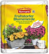 Flormaris® Fruhstorfer Blumenerde ab 2018 im praktischen 5-Liter-Beutel