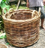 Handwoven rattan basket - Heavy Duty Basket