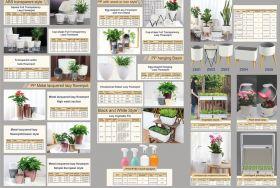 Intelligent Lazy Flowerpot, Mini Vertical Plant Wall, Intelligent water & soil Planter.