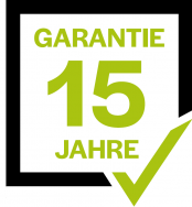 Artificial grass with a 15-year warranty