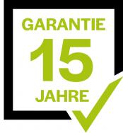 Kunstrasen mit 15 Jahre Garantie