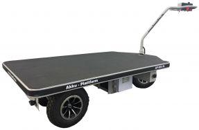 Modell 2020: PowerPac AKKU-Plattformwagen Transportwagen Handwagen Transportkarre Plattform-Wagen Typ AP800XL