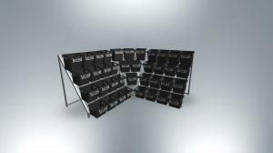 Neu: TRIO-Halter für Eckpräsentationen