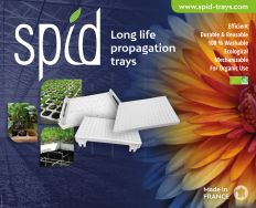 OUR FULL RANGE OF LONG LIFE PROPAGATION TRAYS  FOR ALL TYPES OF SUBSTRATES AND PLUGS