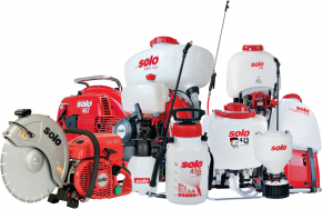 Sprayers, misters and cut-off machines