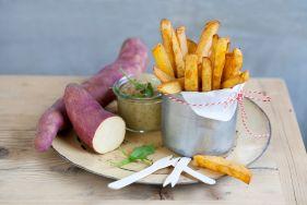 Süßkartoffeln 'Erato® Pleno' und 'Erato® Gusto'