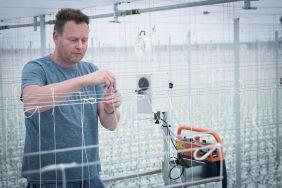 Tomaten Hakenaufwicklung und Schnurspendern