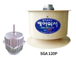 Ventilator für Gewächshaus Air Mixer SGA-120P