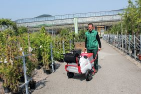 Full speed ahead - The new battery-driven wheelbarrow sprayers A 75 and A 130