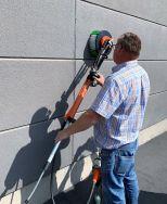Wallee PRO:  Zur Reinigung von horizontalen und vertikalen Flächen