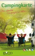 """BVCD NRW-Karte """"Die schönsten Campingplätze NRWs"""""""