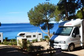 Camping im Winter: Auf der kroatischen Insel Lošinj kein Problem