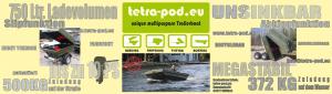 Europastart für den Tetra-Pod