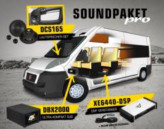 ESX AUDIO SOUNDPAKET PRO – Klangvirtuosen für Fiat Ducato & Co.