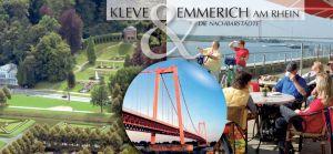Kleve und Emmerich am Rhein - die Nachbarstädte